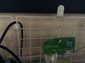 画像2:ケーブル結束クリップも袋ごと!