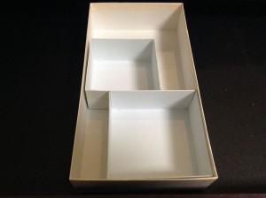 画像3:作った箱2個を大きな箱に取り付けた!